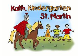 Hier ist das Logo des Kindergarten St. Martins